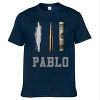 Wholesale pablo clothes resale online - Summer New Brand Clothing T Shirts Men Narcos Pablo Escobar T shirt Cotton Hip Hop O Neck Tees Tops