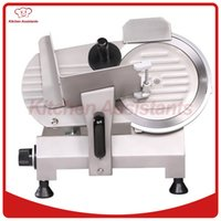 Wholesale restaurant meat slicer - 220S 9 inch 220mm semi automatic meat slicer meat cutter machine for hotel restaurant