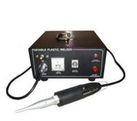 точечные сварщики оптовых-Handheld ультразвуковой Welder 500W 28kHz сварщика пятна ультразвуковой пластичный