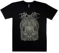 monge de metal venda por atacado-Monk Psycroptic Camiseta Oficial Camiseta Death Metal Banda Camiseta New Hot Selling 100% Algodão Camisetas Top Tee