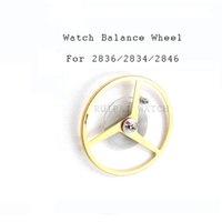 part balancing wheel großhandel-Watche Balance Radfeder für ETA 2824/2834/2836 Uhrwerke Uhr Teil