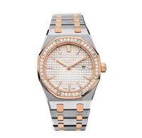часы для женщин серебристый оптовых-роскошные женщины Алмаз часы классическая модель античный наручные часы высокое качество золото / серебро из нержавеющей стали леди часы с Diamo freeshipp