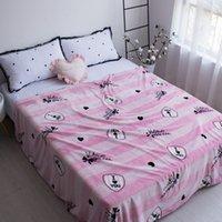 Wholesale King Pink Blanket - Luxury black pink lovers coral fleece blanket multi-purpose luxury blankets welcome wholesale