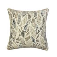 ingrosso pezzi decorativi casa-Contemporary Abstract Leaves Cushion Cover Decorativa per la casa Cuscino per divano in tessuto Jacquard intrecciato quadrato 45x45cm Vendita di pezzi