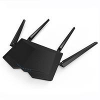 wi fi ретрансляторы оптовых-Tenda AC6 1200mbps беспроводной wifi маршрутизатор 11AC двухдиапазонный 2.4 Ghz / 5.0 Ghz WiFi ретранслятор приложение удаленного управления английской прошивки
