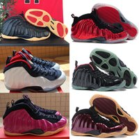 Wholesale Red Models - 2018 New Model High Quality Sports Penny Hardaway Red Suede Men's Basketball Sport Footwear Sneakers Shoes