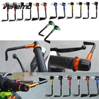 "Wholesale motorcycle clutch brake levers - Vehemo 7 8"" Motorcycle Handlebar Handgrip Protector Brake Clutch Systems Lever"