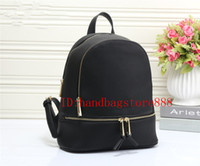 Wholesale Luxury School Bags - 2018 new Fashion women famous brand MICHAEL KALLY backpack style bag handbags for girls school bag women luxury Designer shoulder bags purse