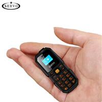 mini pantalla de celular al por mayor-Bluetooth Dialer mini Unloced Cell Phone 0.66