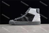 erkek kravat ölçüleri toptan satış-En Kaliteli 10X Stüdyo Ayakkabı 10X Mens Kadınlar MID Ile AA3832-100 Rahat Ayakkabı Zip Kravat Kırmızı Etiket Boyutu US7-12
