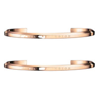 Wholesale Fish Gifts - 2018 DW Bangle DW bracelet rose gold bracelet bracelet 100% titanium steel men and women bracelets new Couple bracelets
