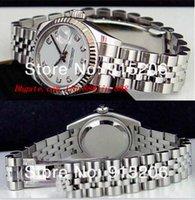 pérolas relógios mulheres venda por atacado-Top Quality Relógios De Luxo Senhoras 18k Branco Diamante 179174 Automático das Mulheres Esporte De Pulso Branco Mãe De Pérola Tem