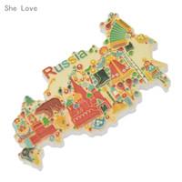 decoração da casa do japão venda por atacado-Ela Ama Japão Mapa Tailândia Frigorífico Imã de Viagem Lembrança Geladeira Etiqueta Home Decor