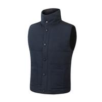 ingrosso giacche di marca d'oca-spedizione veloce Giacca invernale da uomo Mens FreeStyle Vest Goose Vest Down Vest Giù giacca 7 color c-07