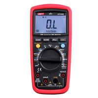 Wholesale uni testers resale online - Digital Multimeters UNI T UT139A UT139B UT139C True RMS Electrical Handheld Testers Multimetro LCR Meters Ammeter Multitester