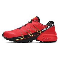Wholesale pro cycling for sale - 2018 Salomon Speed Cross Speedcross Pro Men Red outdoor Running Shoes An Jogging Sport Sneakers for Outdoor Walking