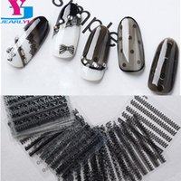 neue nagellack-designs großhandel-Neu kommen 30 Blatt Nail Art Dekorationen Aufkleber schwarz 3D Lace Designs Ongles Materiel Nagellack Sexy Produkte Frauen DIY