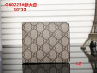 Wholesale luxury toys for men online - 2018 Male luxury wallet Casual Short designer Card holder pocket Fashion Purse wallets for men