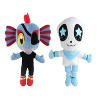 Wholesale undertale plush for sale - New Arrival Style quot cm Undertale Undyne Sansl Stuffed Doll Plush Toy For Kids Christmas Gifts zqw a