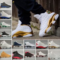 Wholesale panda m - Drop Shipping Men 13s Basketball Shoes13 History of white black red panda Chicago 13 sport Shoes Free Shipping