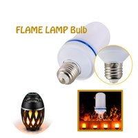 Wholesale Flame Breathing Lamp Bulb the Flame Speaker s Accessories Christmas Halloween Apply To Bar Chost House KTV The Buildings Public Garden