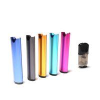 sıcak buhar e-cigarette toptan satış-Sıcak satış tek kullanımlık Vape kalem başlangıç kitleri ile 420 mah 1.5 ml balmumu buharlaştırıcı kalem vape kartuşları Vapesoul OP3 buhar mod e sigaralar