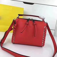 Wholesale cf sales - hot sale shoulder bags women real leather chain crossbody bag handbags famous designer purse cf real leather for women 24cm female bag