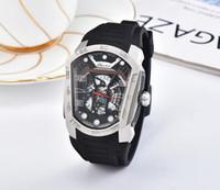 conceptos de lujo relojes al por mayor-2018 la mejor marca suiza reloj deportivo reloj de cuarzo de lujo para hombres correa de cinta adhesiva de moda militar Relojes de pulsera serie fantasma relojes conceptuales