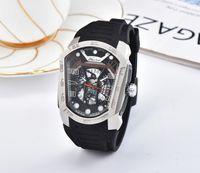 klebeband groihandel-2018 Schweizer Top-Marke Sportuhr Herren Luxus Quarzuhr Klebeband Armband Mode Militär Armbanduhren Phantom Serie Konzept Uhren