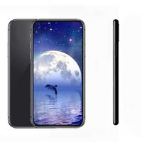Wholesale wireless battery video camera - Goophone X 5.8inch Real Face ID Support Wireless Charger 3G WCDMA Wifi GPS 2200mAh Battery 1300MP Unlocked Smartphone