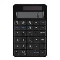 Wholesale usb numeric keyboard - VBESTLIFE Mini 2.4G USB Wireless 2 In 1 29 Keys Numeric Keypad Keyboard & Calculator with LCD Display