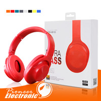 Wholesale high tablet computer online - High quality foldable Headphones Headset With MIC Noise Cancelling Stereo Headband Earphone For iphone X Samsung Cellphone Tablet Computer