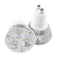 9w ampul ul toptan satış-CREE 9 W 3x3 W LED Spot Dim GU10 LED Ampuller MR16 E27 GU5.3 Spot ışık led downlight aydınlatma