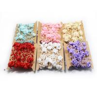 diyo boncuk buketi toptan satış-5 m Boncuk Dize Gül Çiçek İnci Gelin Buketi Düğün Süslemeleri Zincir Dekoratif Çiçekler Çelenkler Parti DIY Aksesuarları HH7-1391