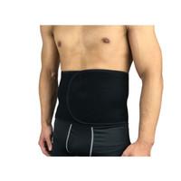 protector elástico de la cintura al por mayor-2018 Hombres Cintura Elástica Corsé Transpirable Ajustable Espalda Cintura Faja Corporal Gimnasio Cintura Protector