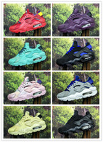 Wholesale green infant shoes - 2018 infant boy Air Huarache Ultra Running Shoes kids Children red Huaraches huraches Designer Hurache Casual trainers green Sneakers 28-35
