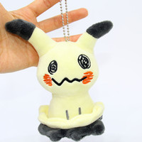 Wholesale pet toys for girls online - Mini Pet Elves Pendent Keyring Plush Toy Bag Pendants Keychains Best Gift For Children New Arrival xa WW
