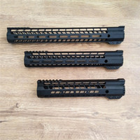 Wholesale m brackets - AR-15 M4 M-LOK handguard 7 10 12 15 inch Slim Free Float Handguard Picatinny Rail Mount Bracket