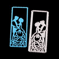 Wholesale wedding stencils - Metal Cutting dies Wedding Marry for Cards Stencil Scrapbooking and Paper Crafts handmade Embossing folder DIY paper craft Machines