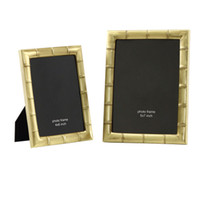 Wholesale Pictures Metal Homes - Grade Quality Brass Photo Picture Frames , Metal Picture Holders Ideal For Home Decor, Gifts MPF061