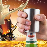2018 new bar accessory ktv use automatic stainless steel beer bottle opener with magnet cap catcher