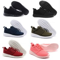 Wholesale Womans Sports - Wholesale 2017 New London Olympic Classic All Black White Ink Running Shoes For Men Women Sports London Olympic Womans Mens Trainers Sneaker