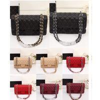 bolsos de colores populares al por mayor-Diseñador de las señoras bolso de cuero de alta calidad de moda más popular clásico mujer bolsas de hombro Messenger Bag bolsos de múltiples colores elegir