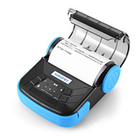 bluetooth printer al por mayor-Envío gratis Mini 80 mm IOS Android impresora térmica Bluetooth 80 mm portátil Bluetooth IOS impresora térmica de recibos Bluetooth Android