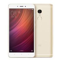"Wholesale qualcomm mobile phones - Original Xiaomi Redmi Note 4 Qualcomm 3GB 32GB Global Version Snapdragon 625 Mobile Phone 5.5"" FHD 13MP Fingerprint ID MIUI 9"