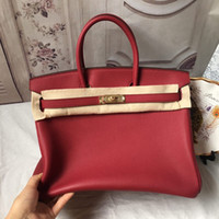 Wholesale yellow blue saddle for sale - Luxury Women Leather Totes Imported Top quality togo Leather fine grain super soft handbags Exclusive store High cost effective bags