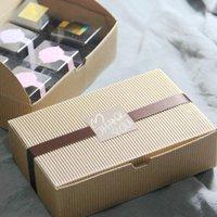 corrugated paper groihandel-Kraftpapier-gewölbte Mooncake-Kästen Wholesale ake Kasten-Nahrungsmittelverpackungs-Geschenkbox DHL Fedex Freies Verschiffen