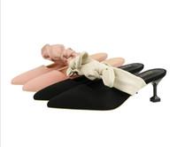 anel de pé sexy venda por atacado-Novas Mulheres Sexy Bombas de Moda Sandálias Sapatos de Verão de Salto Alto 5 cm Sandálias Peep Toe Trançado Anel de Tira No Tornozelo Sandálias