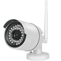 Wholesale wireless ip camera hd ir resale online - 4CH HD Wireless P NVR MP IR Outdoor P2P Wifi IP CCTV Security Camera System Surveillance Kit tb HDD