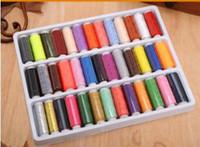 remendos de ferro beisebol venda por atacado-Tomadas de fábrica em caixa de 39 linhas de costura de cor mão pontos 39 linha de cor